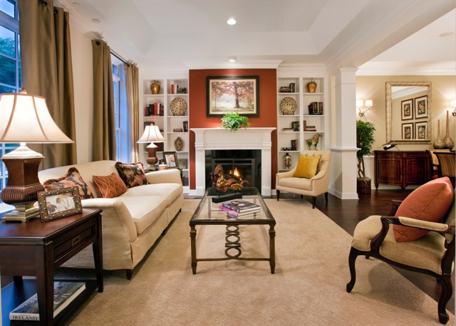 South jersey real estate princetonfyi for Small square living room